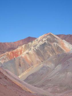 CHILI / Sur la piste vers le paso Agua Negra (4780m)