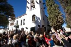 HUMAHUACA / La statue de San Francisco sort du clocher tous les jours à midi