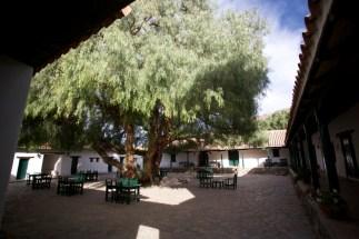 VALLEE CALCHAQUIE / Molinos - Intérieur d'une hacienda