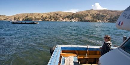 TIQUINA / Traversée avec entre San Pablo et San Pedro.