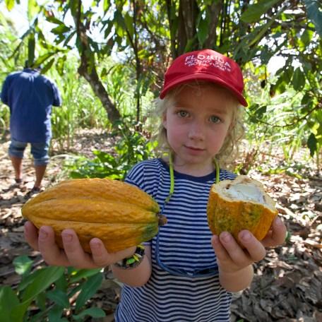 RIO BENI / Pause dans un village pour découvrir la culture de la canne à sucre et du cacao
