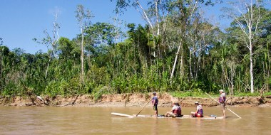 PN MADIDI / 30 minutes de descente du rio Tuichi pour rejoindre le lodge