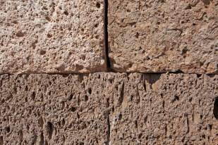 SILLUSTANI / Aucun liant entre les pierres