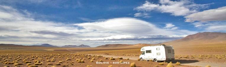 BOLIVIE / Sud Lipez, peu après la laguna Colorada