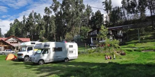 CUENCA / Bivouac des cabanas Yanuncay : agréable mais bien trop cher pour les services