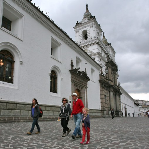 QUITO / Eglise San Francisco