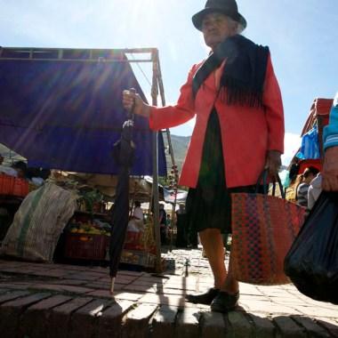 VILLA de LEYVA / Jour de marché