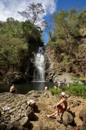 """MONTEZUMA / La plus haute des """"Trois cascades"""""""