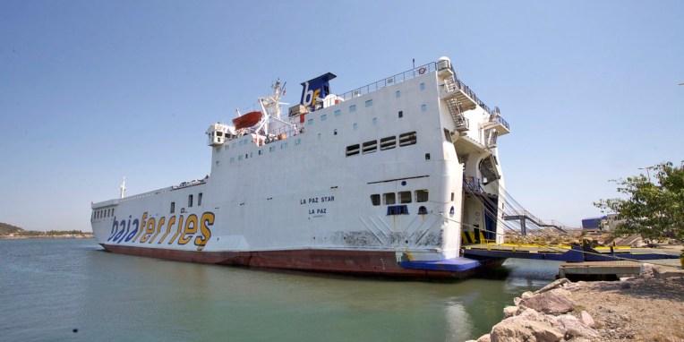 BAJA CALIFORNIA / Ferry de Mazatlan à La Paz