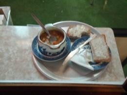 Soup en bread