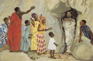Jesus raises Lazarus to life - John 11:1-44
