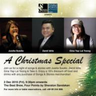 2 December 2016: Songs & Stories Christmas Special at Best Brew, Sandakan