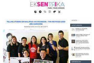9 January 2017: #WarisanSandakan featured on Eksentrika. Read it here (http://eksentrika.com/telling-stories-facebook-methods-awesome/)