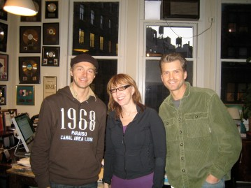 January 2008: New York: Kristian, LInda Goldstein & Roger Treece