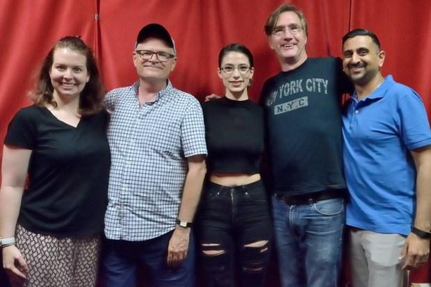 Vanessa, Bruce, Rachel, Phil and Neel