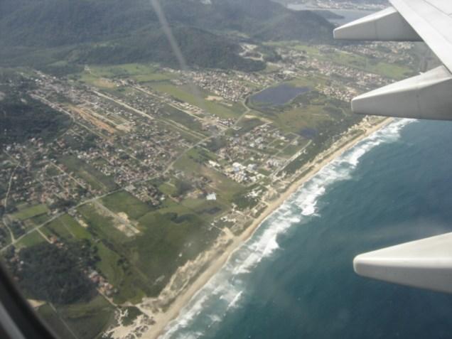 Sobrevoando Florianópolis