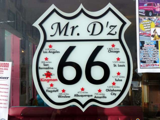 2188 8 dia Arizona Kingman (route 66)