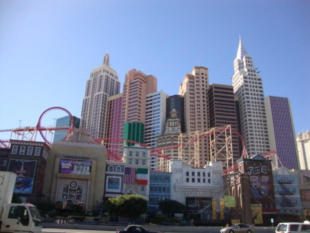 Nevada Las Vegas Strip - New York Hotel Casino