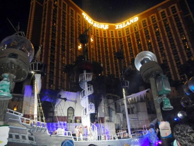 2921b 9 dia Nevada Las Vegas Strip - Treasure Island Hotel Casino