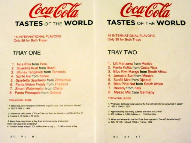 coca-cola-store-las-vegas-soda-menus
