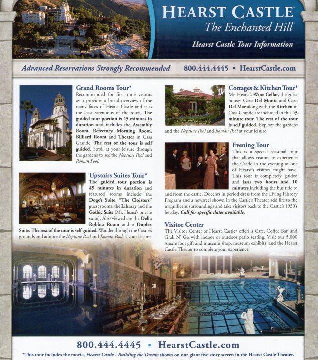 3839 14 dia - San Simeon Hearst Castle