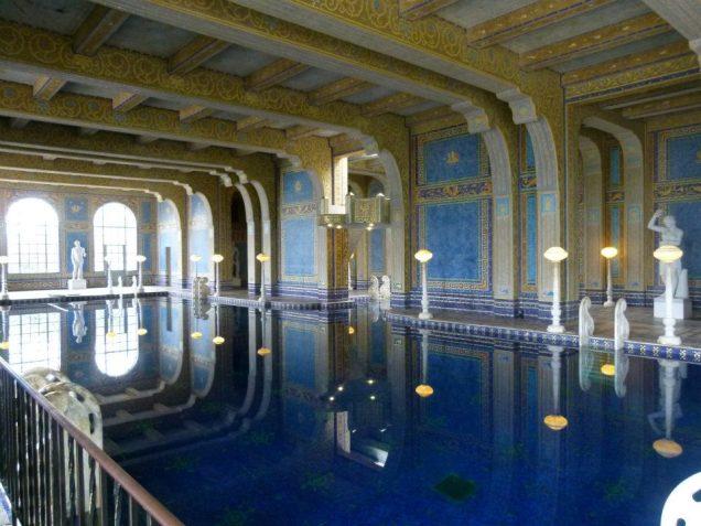 3869 14 dia - San Simeon Hearst Castle Roman Pool