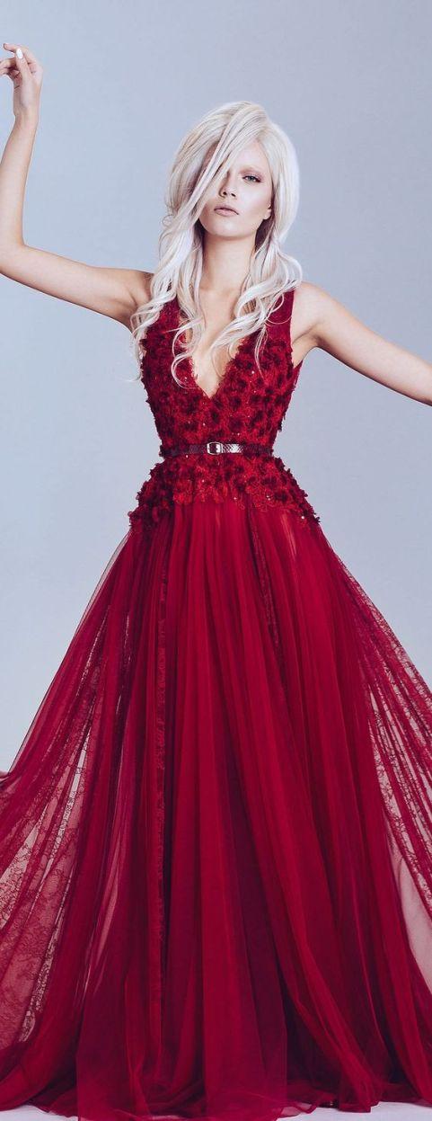 vestidos-de-15-anos-vermelho-recepção