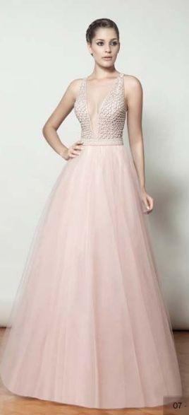 Vestidos-de-15-anos-longo-recepção-rosa-claro