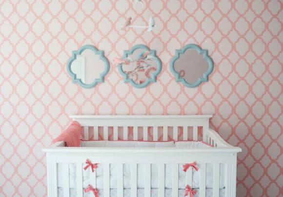 -papel-de-parede-para-decorar-quarto-de-bebê-menina