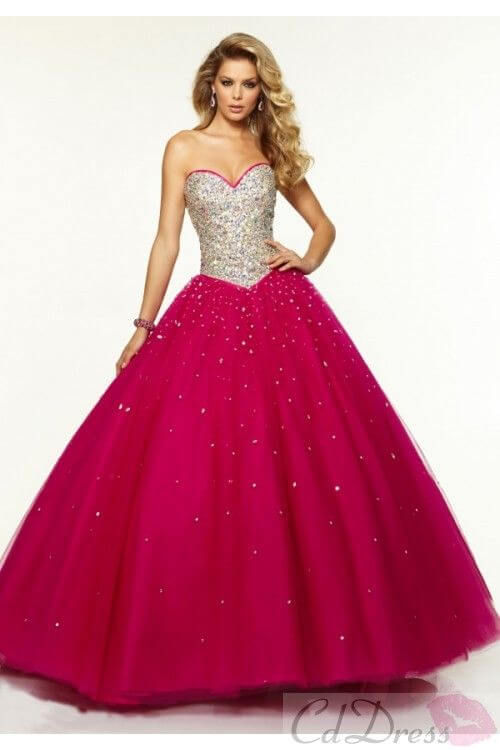 vestidos-longos-de-15-anos-rosa-pink-com-pedrarias