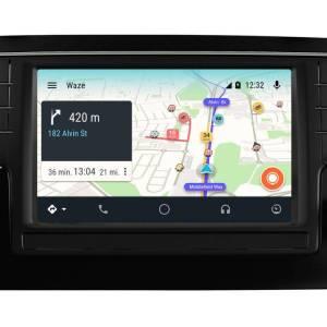 Convite beta para o Waze no Android Auto