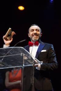 ÁNGEL RUIZ galardonado como mejor actor de reparto en televisión por su Lorca en el «Ministerio del Tiempo»