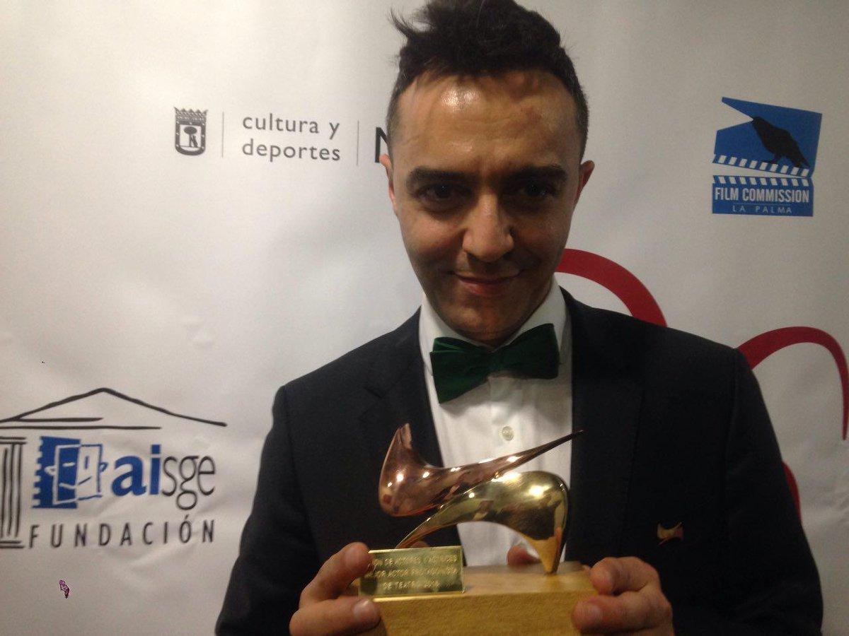 ángel Ruiz Premio Al Mejor Actor Protagonista De Teatro Por Miguel