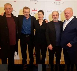 PACO OBREGÓN recoge el premio Ercilla como Mejor Actor de reparto