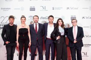 Nuestros representantes en la presentación del 22ª Festival de Málaga