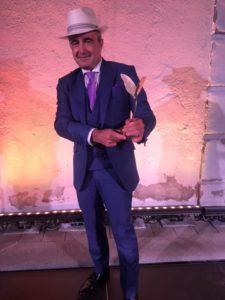 JUANMA NAVAS recoge el Premio Internacional Nápoles Cultural Classic