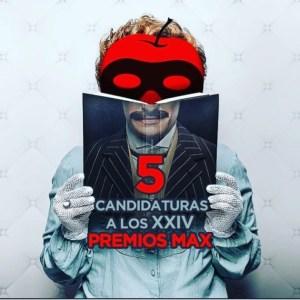 """Cinco candidaturas para """"El Caballero incierto"""" de SILVIA DE PÉ en los Premios Max"""