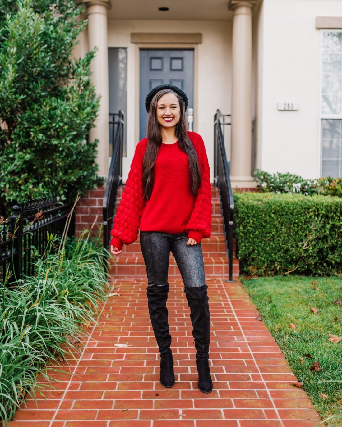 Valentine's Day Red Sweater