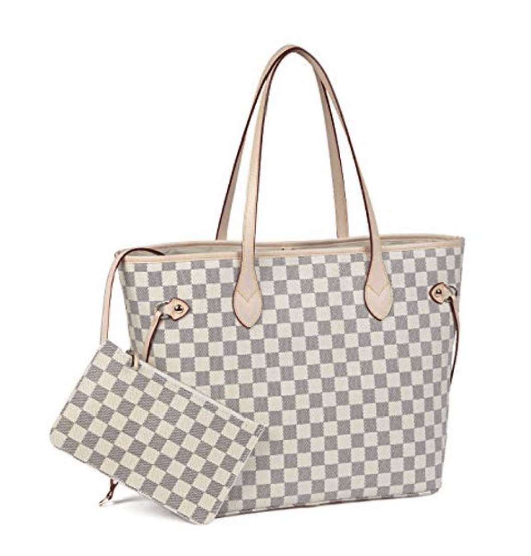 High Quality Designer Dupe Louis Vuitton Bag Dupe Neverfull Dupe