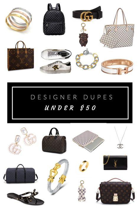 Designer Dupes Under $50