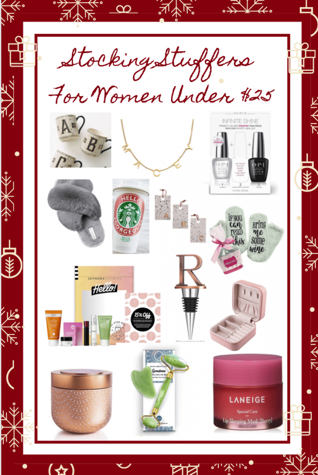 Stocking Stuffers For Women Under 25