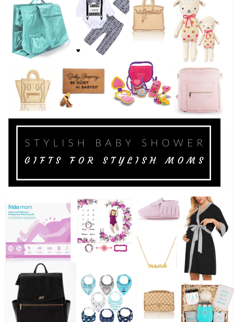 Stylish Baby Shower Gifts for Stylish Moms