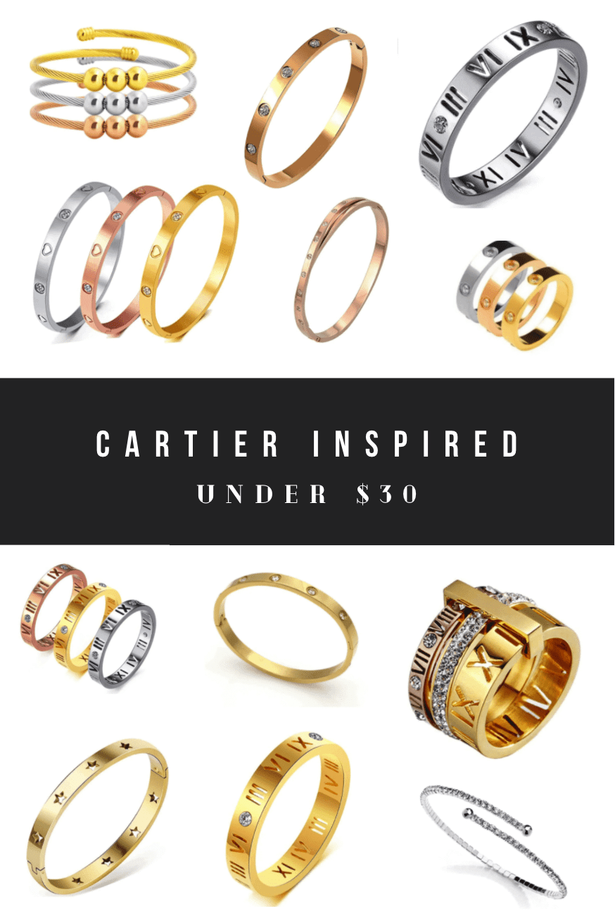 Cartier Dupes