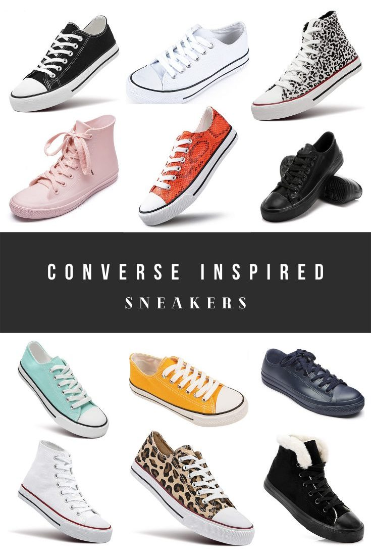 Cheap Converse Dupes, Chuck Taylor Alternatives and Look Alikes