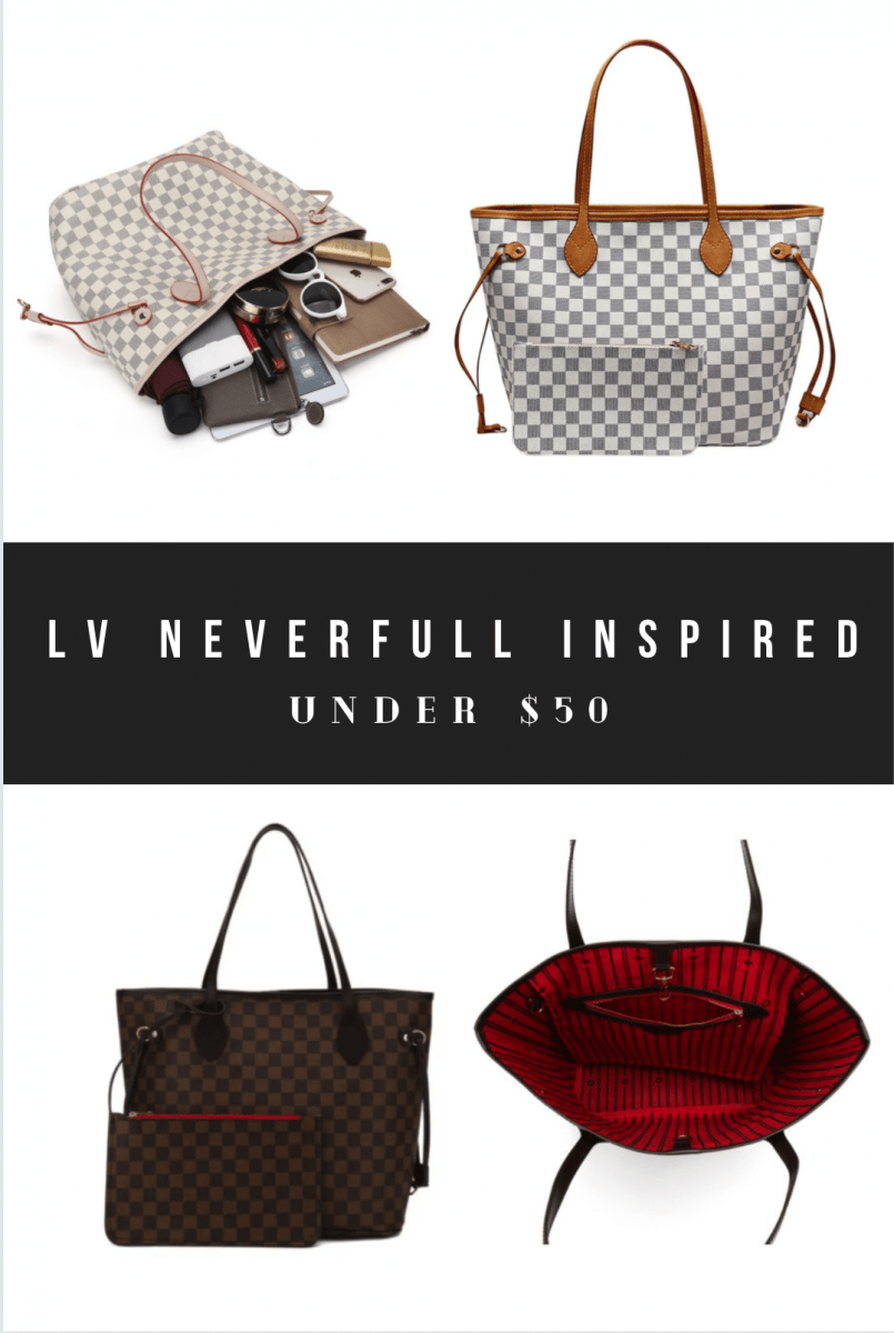 Louis Vuitton LV Neverfull Dupes