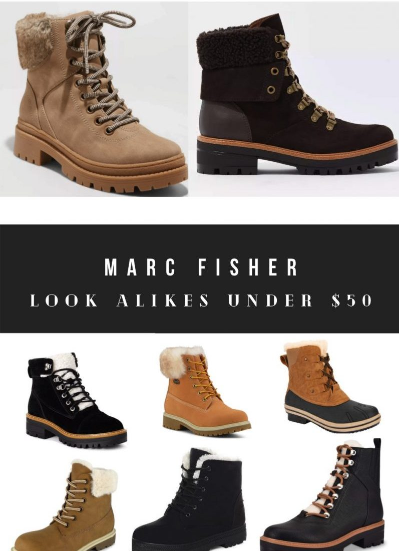 Marc Fisher Dupes and Boot Look Alikes