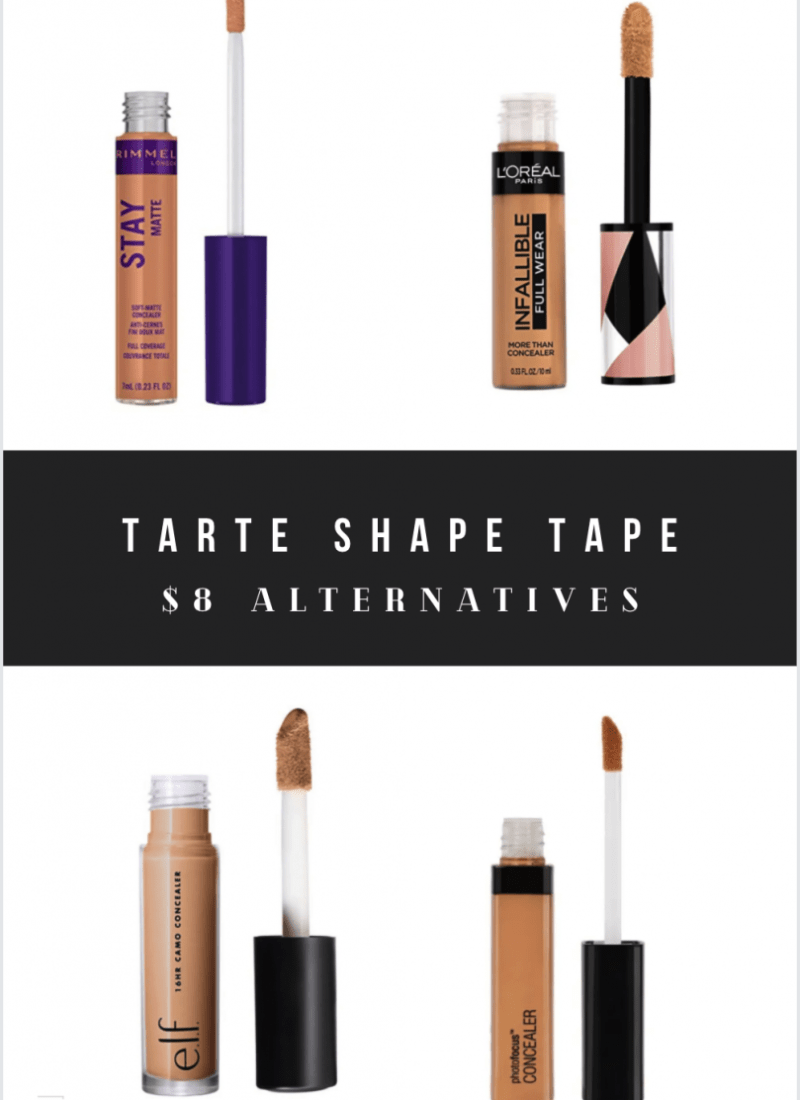 Tarte Shape Tape Dupes: Drugstore Alternatives