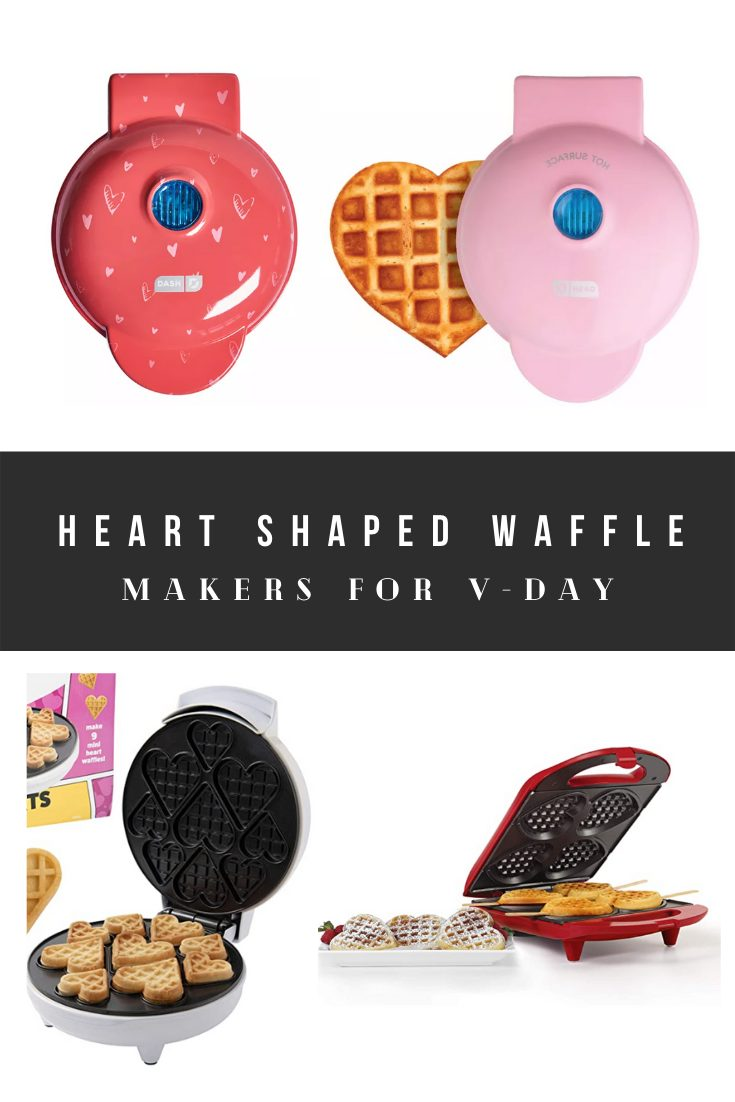 Heart Shaped Waffle Makers From Amazon