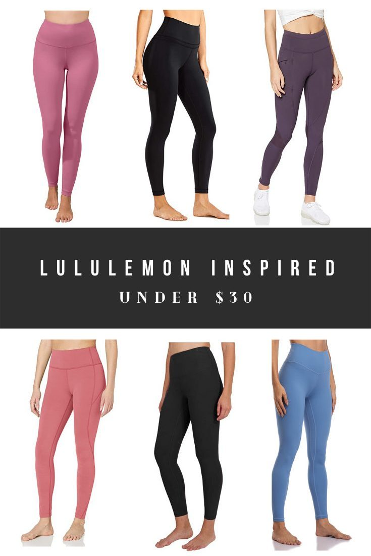 Lululemon Leggings Dupes Top Rated Leggings on Amazon