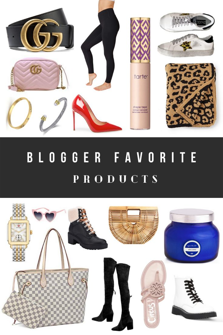 Blogger Favorite Products (Health, Beauty, Shoes, Handbags, Clothes, Home Decor)